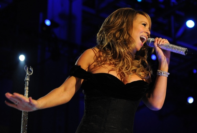 Mariah Carey Camflare Video Celebrity